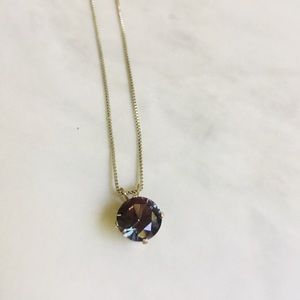 Jewelry - Sterling silver and Alexandrite necklace